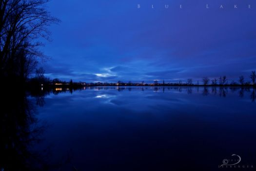 Blue Lake by Linkineos