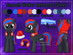 [Commission] Smooth Walker Reference Sheet by Veemonsito