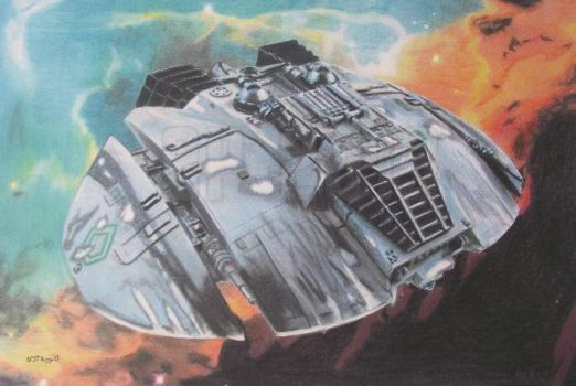 Battlestar Galactica: Cylon Raider by Starfire-Productions
