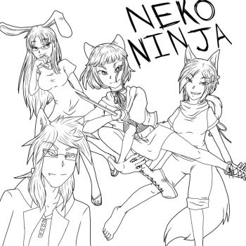 NN Poster Coloring Contest! by whitekitsune1