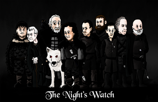 The Night's Watch by neoalxtopi
