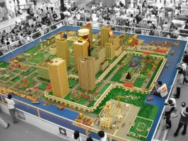 lego city in Indonesia by adi2007