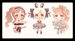 Plushimi adoptable price lowered #2-#4[CLOSED] by Madinne