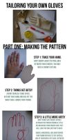 Gloves Tutorial: Part I, Making a Pattern by Eightohsixtythird