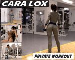 Cara Lox:Private Work Out by Redrobot3D