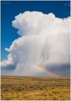 Showers Over Creston Junction by wyorev