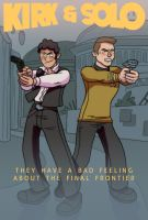 Kirk and Solo by The-Mirrorball-Man