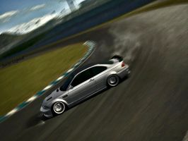 M3 GTR drift by SwissLegend
