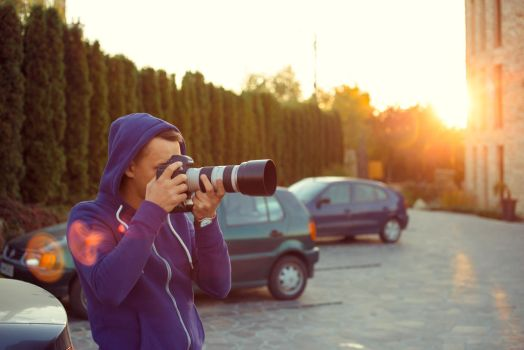 The photographer by ale2xan2dra