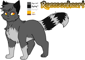 Mine| Raccoonheart Ref by DevilsRealm