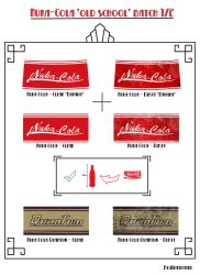 Nuka-Cola old school batch pt1 by Whatpayne