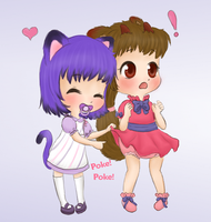 Chibi commission: kimsterz by Pastel-Hime