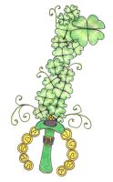 St.Patrick's Day Keyblade by Amaquieria