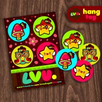 LVU hang tag by loveshugah