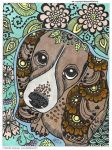 Sweet dachshund by MaguschildCloud