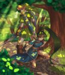 Commission: Link and Lyndis by Zellie669-commishes