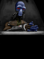 Cad Bane by Montano-Fausto