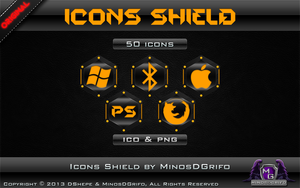 Icons Shield 2013 by DShepe by DShepe