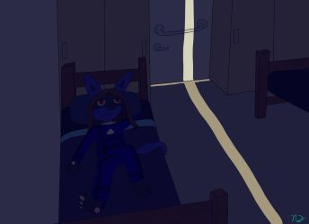 Thinkin during the night by AuraMaster-Lucario