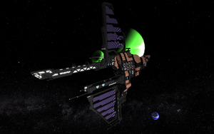 StarMade Construction - Tempest battleship by thespacepon3