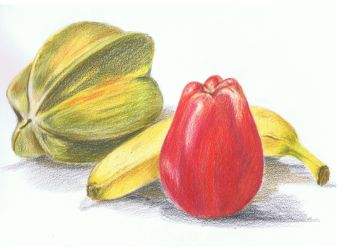 coloured fruit by 6Ginger9