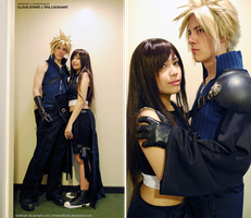 Together - Cloud and Tifa by lonelymiracle