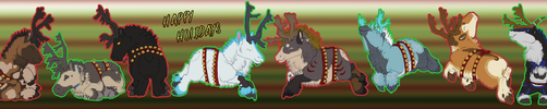 Happy Caribou Days from Ri by FireMaster13