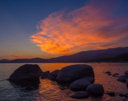 East Shore Sunset150802-53 by MartinGollery