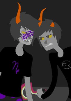 HOMESTUCK CHALLENGE DAY 5 by kitsuami