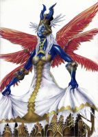 Ultima, the High Seraph by ElStormo