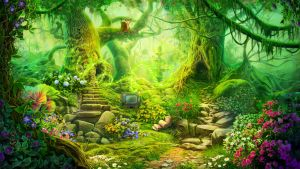 Fantasy Forest by CiCiY