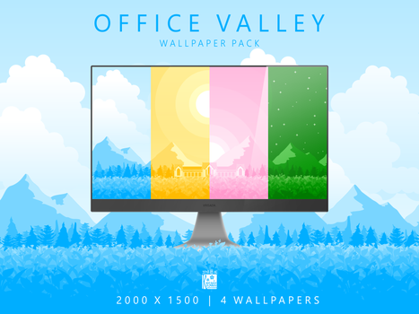 Office Valley by Krisada