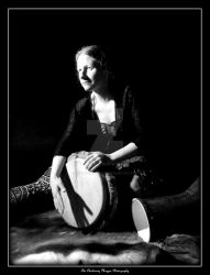 FOLK (DSCF6289 #1a BW) by Chattering-Magpie