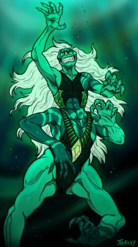 Steven Universe: Malachite by journemin