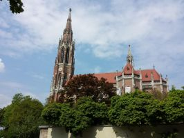 Gothic cathedral in Munich by Arminius1871