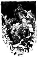 CommissionFFVIII Squall Seifer by mistermoster