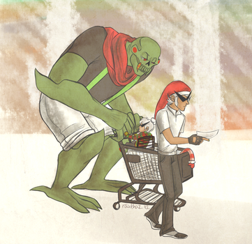 Family Shopping by rauthaz