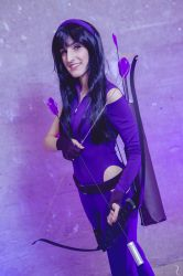 Pretty much an Avenger - Kate Bishop (Hawkeye) by CallOfFateAndDestiny