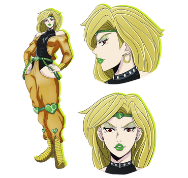 .:SC:. Genderbend -DIO- by ChisuBlopop