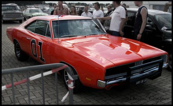 1969 Dodge Charger by compaan-art