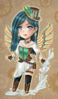 Commission- chibi Teara for Crysthal by Solceress