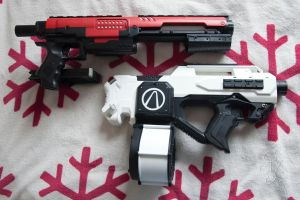 Nerf Rampage and Rayven MOD by c-langendijk