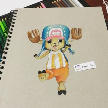 Tony Tony Chopper - One Piece by jollyrein