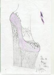 Spider shoes by indiamoon