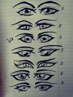 .:Anime Eyes:. by bakagummi