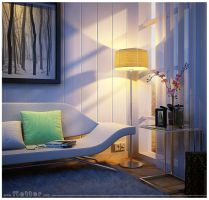 CozyCorner_evening mood by fietter
