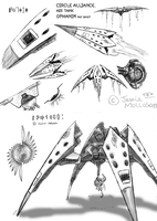 original spaceship: ref sheet by Jesseth