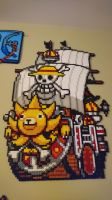 One Piece Picture #11. Thousand Sunny by MagicPearls