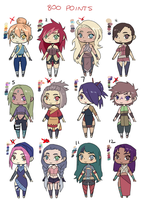 NARUTO OC ADOPTS [CLOSED] [800 POINTS] by HONEYxPOISON