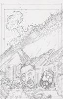 Stars 3 Page 6 Pencils by KurtBelcher1